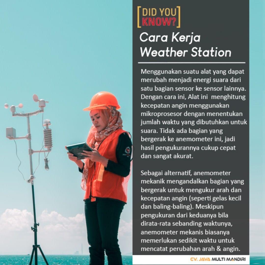 Cara Kerja Weather Station