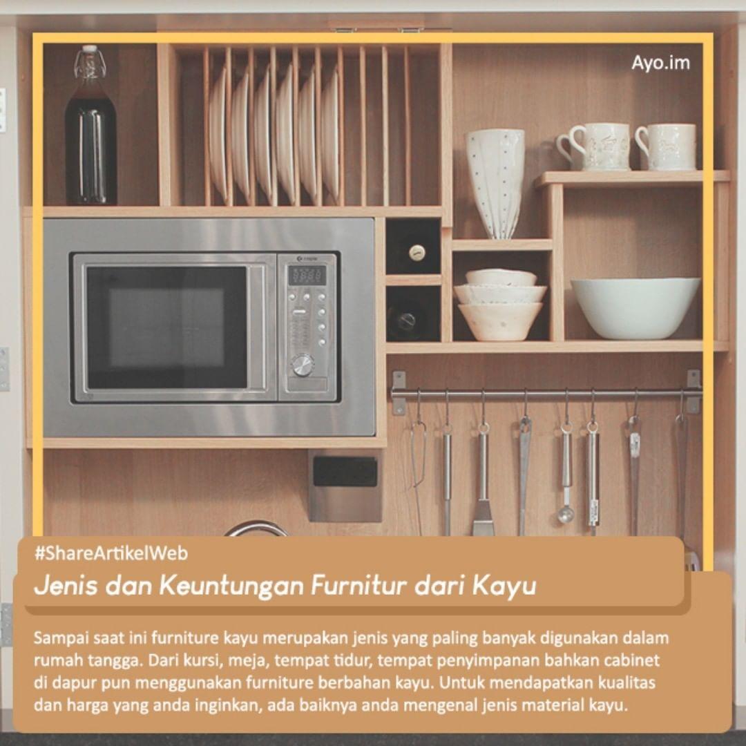 Jenis dan Keuntungan Furnitur dari Kayu