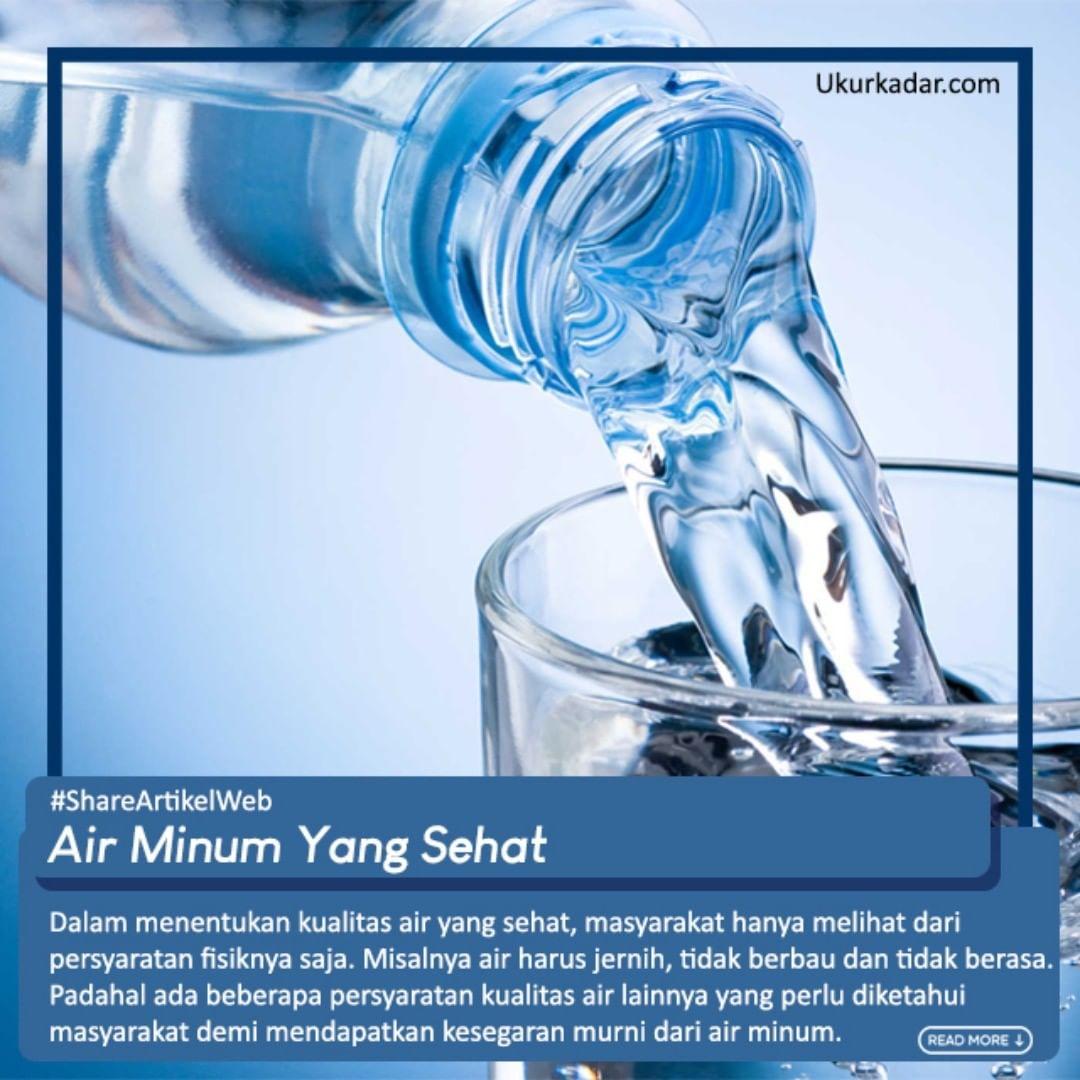 Seperti Apa Air Minum Yang Sehat?