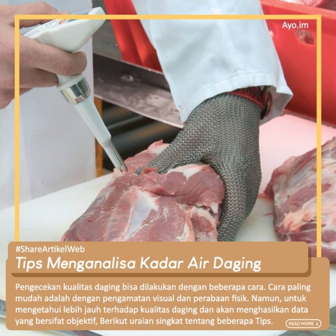 Tips Menganalisa Kadar Air Daging