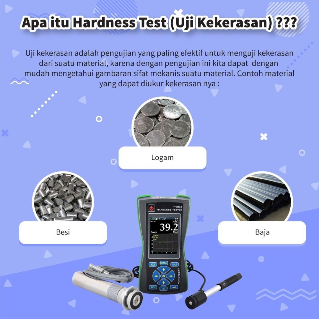 Apa Itu Hardness Test ( Uji Kekerasan ) ?