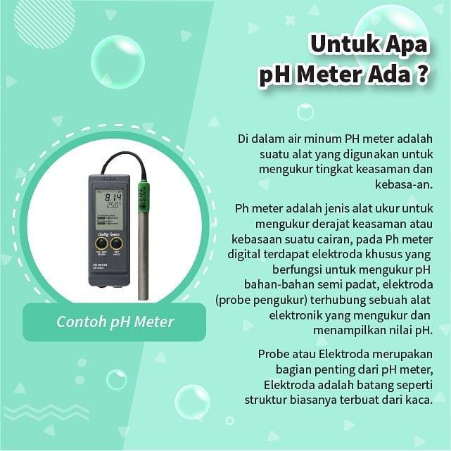 Untuk Apa pH Meter Ada?